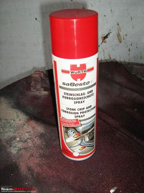 Underbody Treatment  Antirust Coating For The Car Page