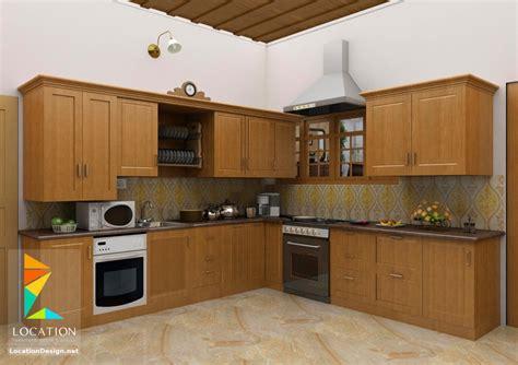 أشكال مطابخ خشبية بتصميمات عصرية