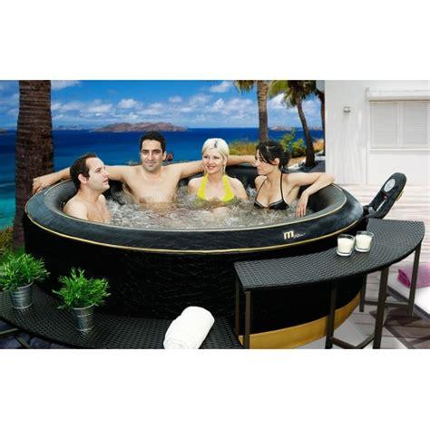 spa gonflable 4 ou 6 places erobot piscine