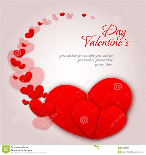 Happy Valentines Day And Weeding Cards Stock Vector