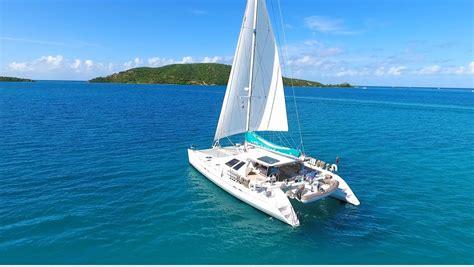 Catamaran Day Charter A Vendre by Adastra Crewed Catamaran Charter British Virgin Islands