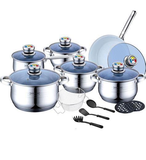 royalty line rl 1801bc batterie de cuisine en acier inoxydable 8 pi 232 ces royalty line rl 1801bc