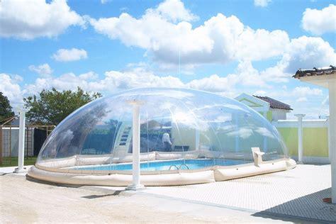 plaisir sous bulle pour votre piscine piscine bien etre