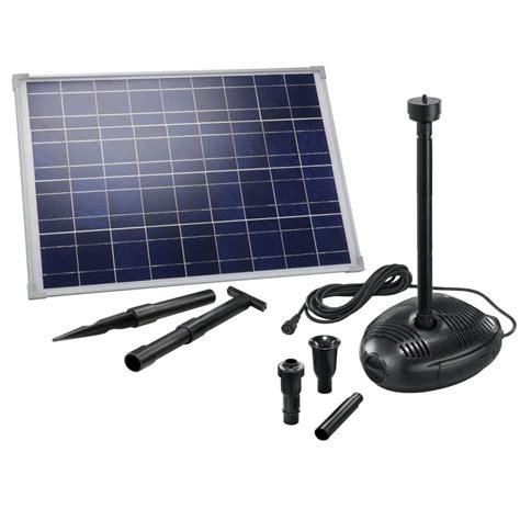 kit pompe solaire bassin ou fontaine genova 35w sur solairepratique kits pompe et quipement