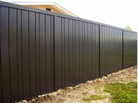 privacy fence panels Solid Metal Privacy Fencing • Fences Ideas