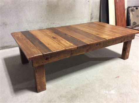 Large Square Solid Wood Opium Coffee Table  Coffee Table