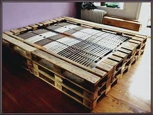 Palettenbett Selber Bauen : aa palettenbett selber bauen europaletten bett diy anleitung shop selbst paletten matratze fa 1 ~ Markanthonyermac.com Haus und Dekorationen
