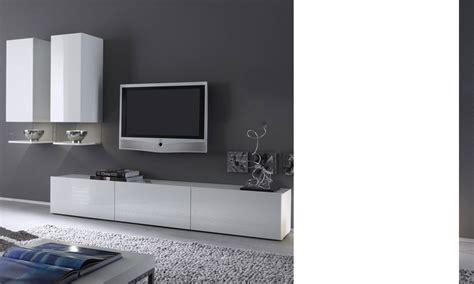meuble tv dangle blanc laque pas cher id 233 es de d 233 coration et de mobilier pour la conception de
