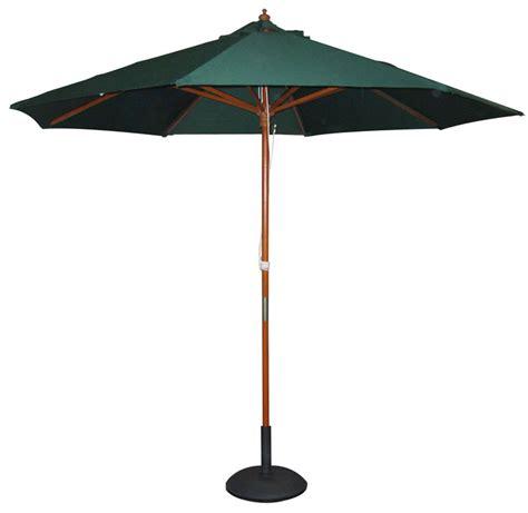 garden parasol base green black or parasol umbrella with base stand shade ebay