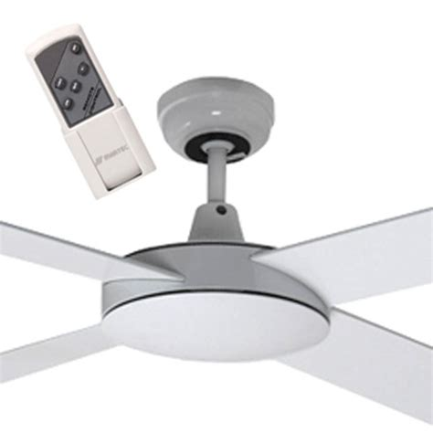 2 ceiling fan with remote white 52 quot