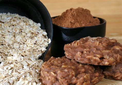 easy dessert recipe no bake chocolate oat cookie all created