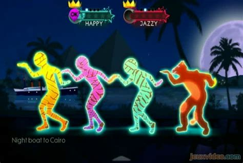 Madness Night Boat To Cairo Just Dance by Gameplay Just Dance 3 Night Boat To Cairo Jeuxvideo
