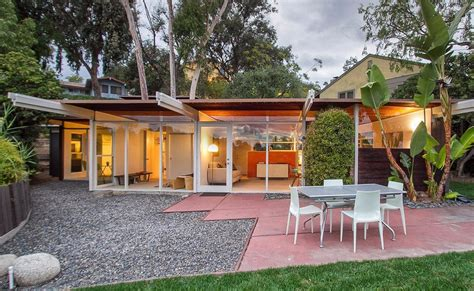 Post And Beam  Mid Century Modern Homes  Hollywood Hills