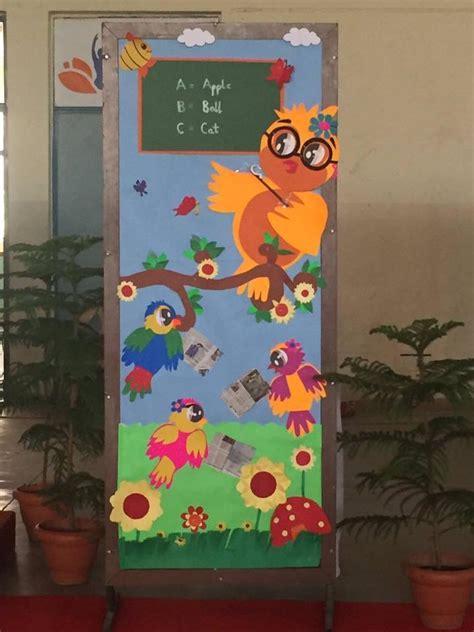 cool door decorations for preschoolers 1 171 funnycrafts