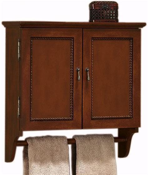 chelsea wall cabinet with towel bar bath items