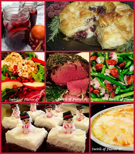 Best Ever Christmas Dinner Recipes  Swirls Of Flavor