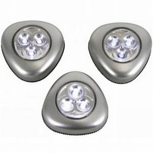 Bilder Lampen Mit Batterie : led leuchte selbstklebend 3er set silber batteriebetrieb touch leuchten ebay ~ Markanthonyermac.com Haus und Dekorationen