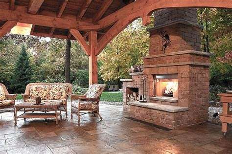 Outdoor Fireplaces : Outdoor Fireplace Design Ideas (outdoor Fireplace Design