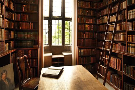 Cosy Nook In Somerville College Library, Oxford