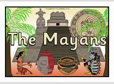 The Mayans display poster SB10867 SparkleBox