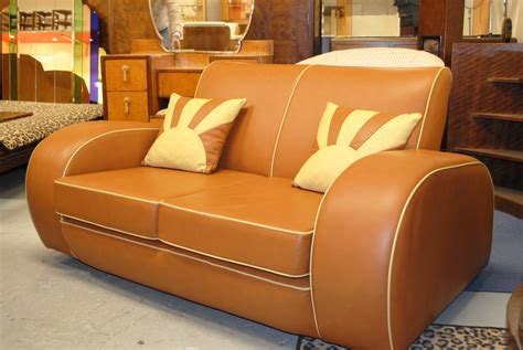 resplendent retro classic faux leather sofas two seater as deco furniture added vanity