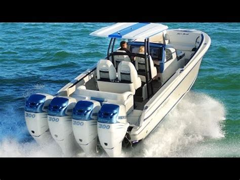 High Performance Ocean Boats by Seavee Z High Performance Stepped Hull Fishing Boat Doovi