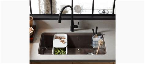 standard plumbing supply product kohler k 5871 5ua3 20 riverby undermount single bowl kitchen