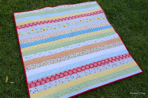 Oh Clementine Jelly Roll Quilt