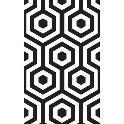 papier peint hexagono tres tintas