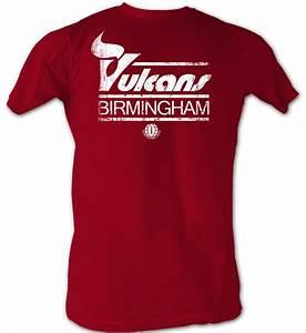 World Football League T-Shirt - Birmingham Vulcans Adult ...
