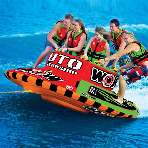 Pull Behind Boat Floats by Ski Towables Tube Inflatable Water Towable Tubes For