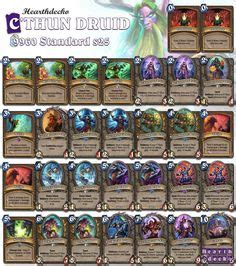 basic druid deck hearthstone decks decks