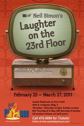 laughter on the 23rd floor ctx live theatre