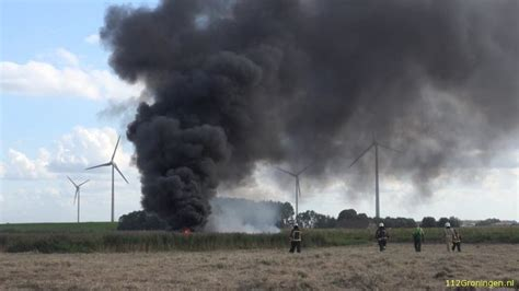 Scheepvaart Luchtvervuiling by 112groningen Rookpluim Farmsum Van Grote Afstand Te Zien