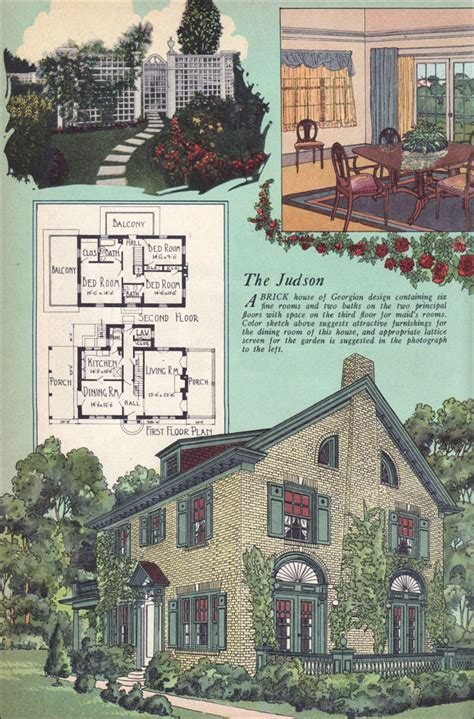 1927 goodrich revival cottage william a colonial revival house plans 28 images colonial