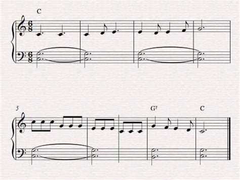 Sheet Music Row Your Boat by Free Easy Beginner Piano Sheet Music Row Row Row Your