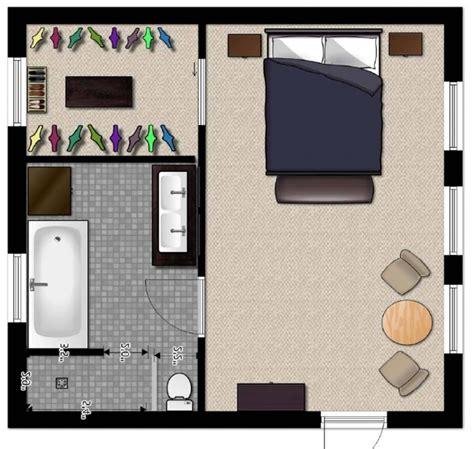 Simple Master Bedroom Floor Plans  Fresh Bedrooms Decor Ideas
