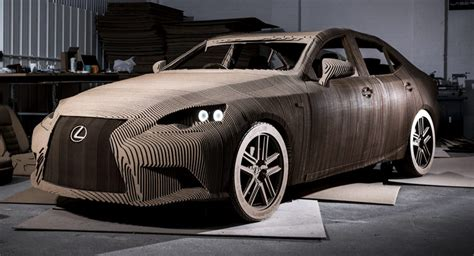 Lexus Makes A Life-size Origami Is Replica That You Can