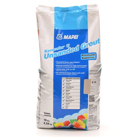 shop mapei 10 lbs biscuit unsanded powder grout at lowes