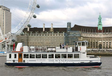 Boat Cruise In East London by The Wyndham London Party Boat Hire Thames Boats Ltd