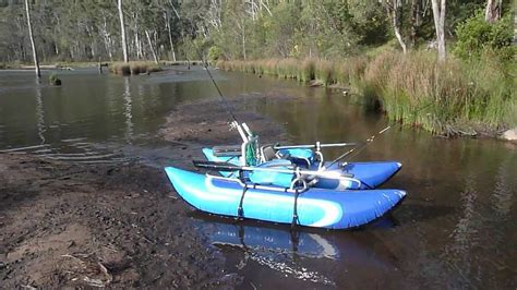 Inflatable Pontoon Boats Youtube aussie inflatable pontoon boats youtube