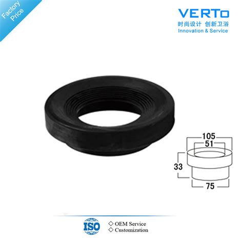 toilet seal gasket manufacturer in china by verto xiamen plumbing inc id 1550018