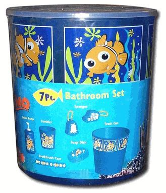 finding nemo bathroom kit nursery disney bathroom and disney pixar