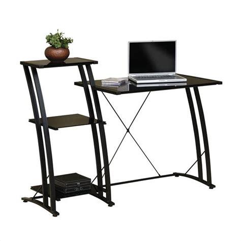 studio rta deco tiered black computer desk ebay