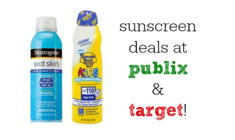 Does Banana Boat Sunscreen Have An Expiration Date by Sunscreen Coupons Deals At Publix And Target Southern