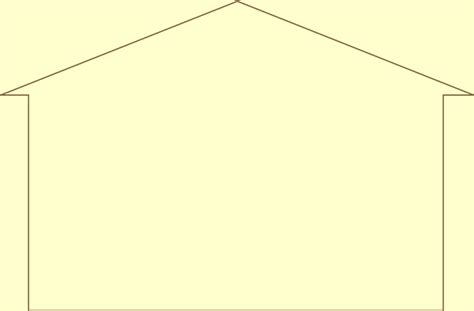 Sunrise Boat And Rv Storage by Outline Of A House Cliparts Co