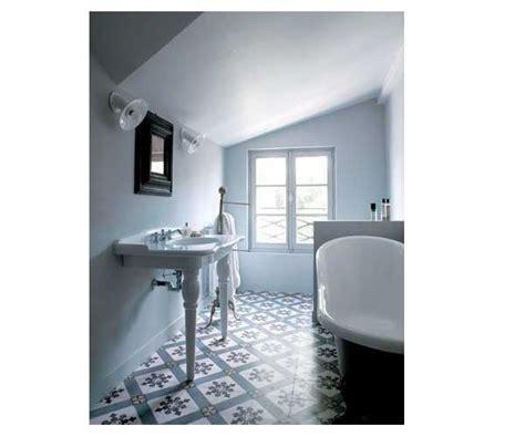 la d 233 co salle de bain en carreaux de ciment c est chouette