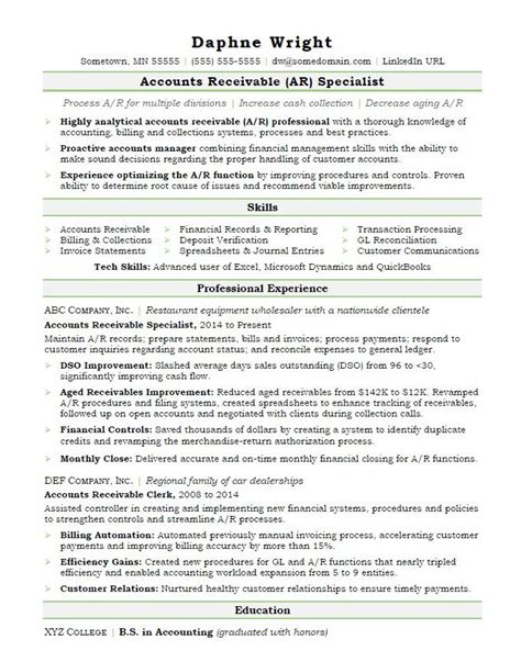 Accounts Receivable Resume Sample  Monsterm. Or Nurse Resume. Warehouse Duties Resume. Sharepoint Administrator Resume Sample. How To Name A Resume. Hr Payroll Resume. Resume Hr Director. How To Write Summary For Resume. Mdc Optimal Resume
