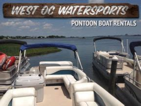 Chaparral Boats Ocean City Md by Pontoon Boat Rentals In Ocean City Md Ocbound