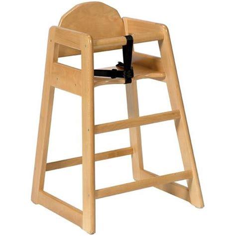 chaise haute sans plateau pour enfant simplex bois clair ref sim cl